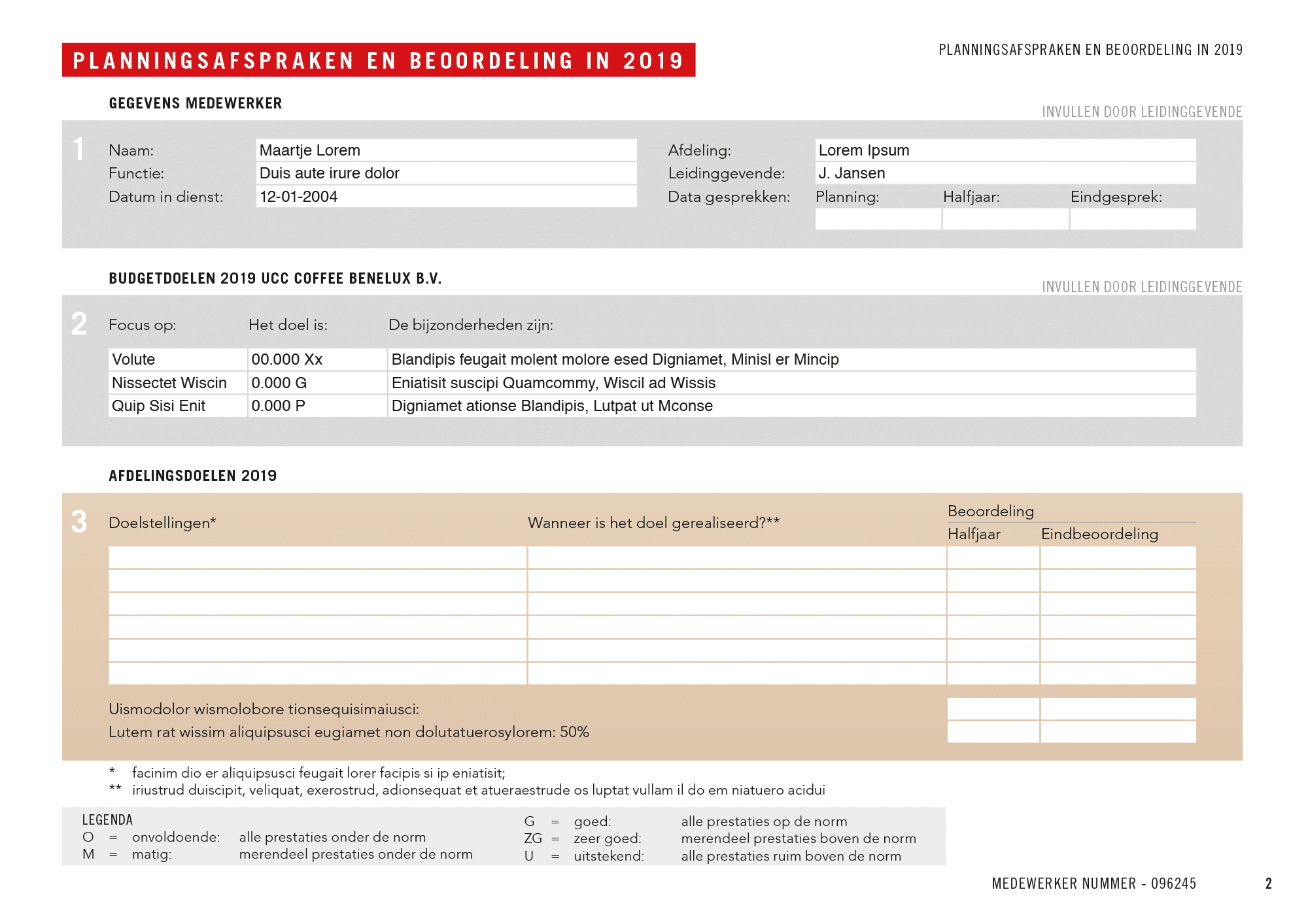 UCC Formulieren FB 2019 Lorem Ipsum 2   150 gepersonaliseerde invulbare pdf's voor UCC Coffee