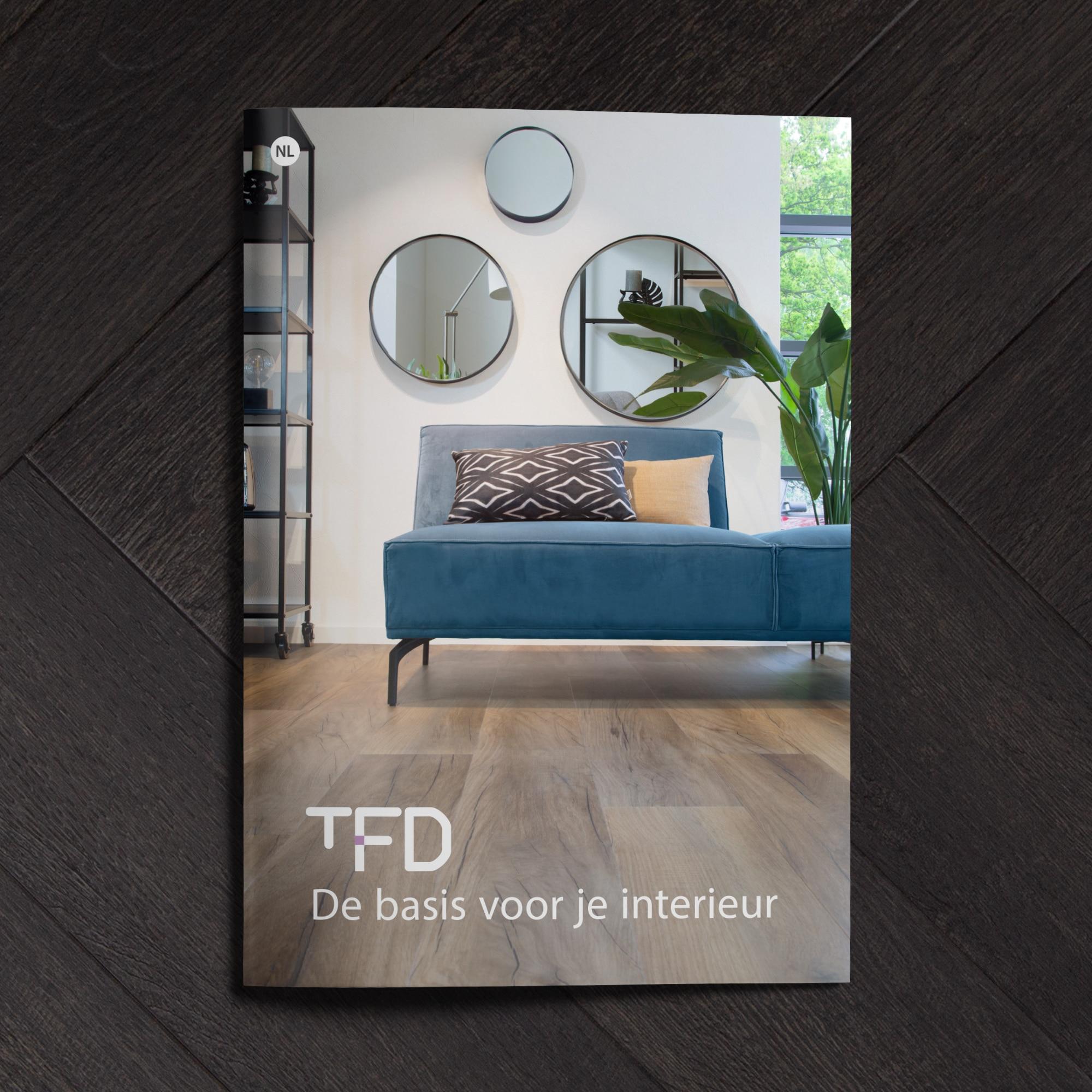 brochure tfd uitgelicht | TFD Floortile Productbrochure PVC vloeren