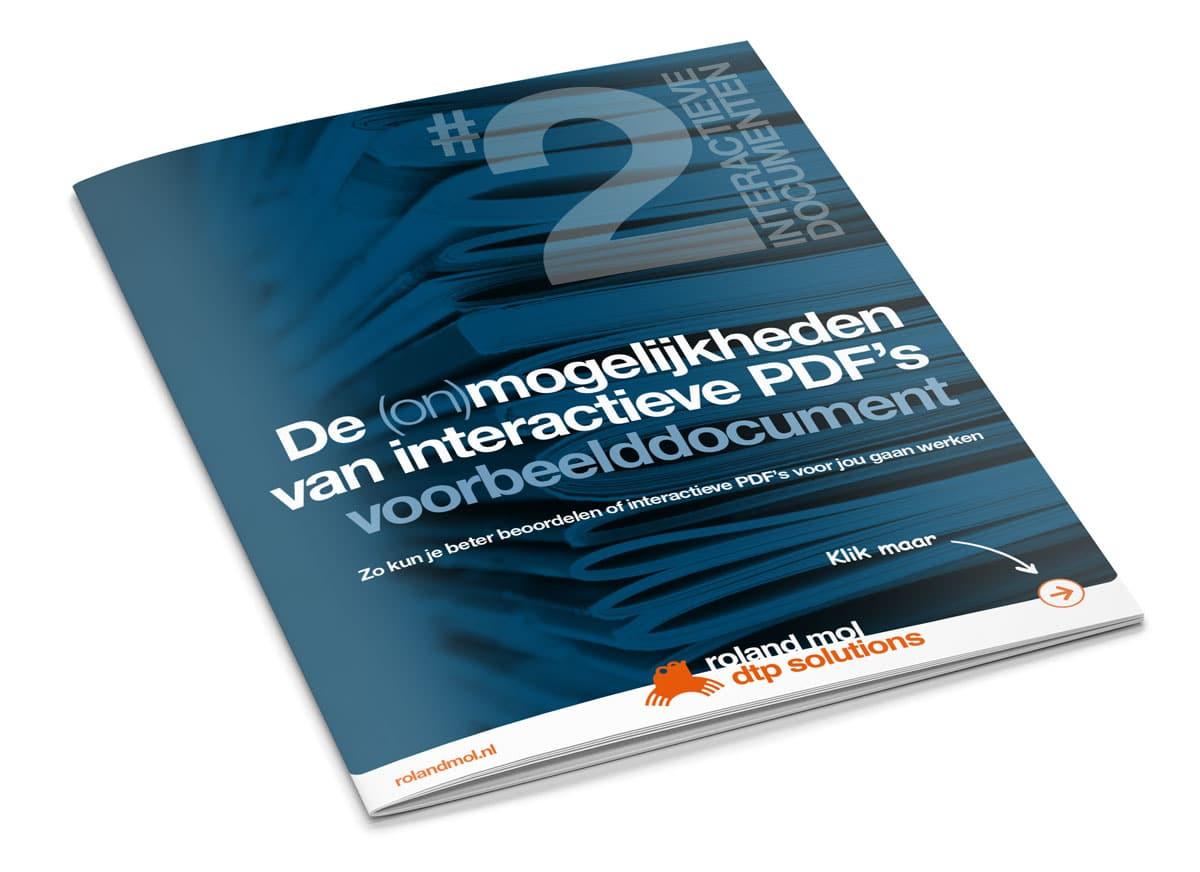 De (on)mogelijkheden van interactieve PDF's